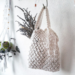 Shopping bag IGGY macrame...