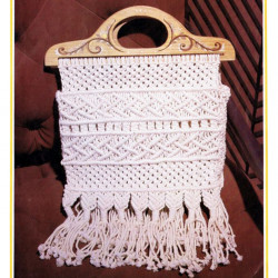 Busy Bee Macrame bag